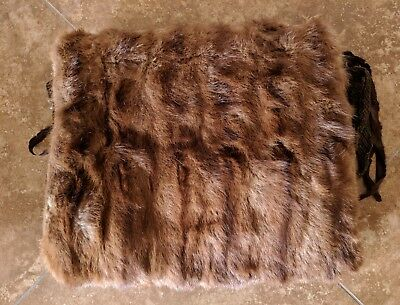 Vintage Furs 1940s 2 Boa and 1 Hand warmer Muff