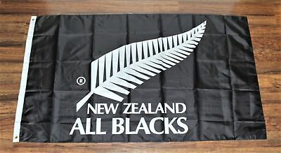 New Zealand All Blacks Banner Flag 3x5 Rugby National Union Team