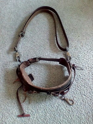 Vintage Pole Climbing Klein Buhrke Floating-tool Belt and Climbing Strap