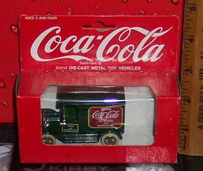 Coca - Cola Metal Die Cast  Box Has Damage
