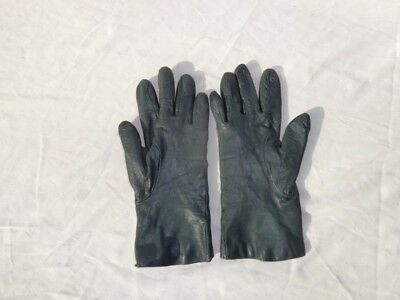 Nice black womens leather and cashmere gloves