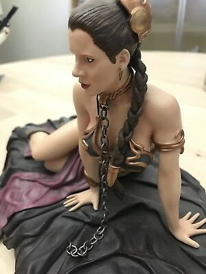 Princess Leia as Jabba's Slave Statue Gentle Giant Star Wars ROTJ 2007