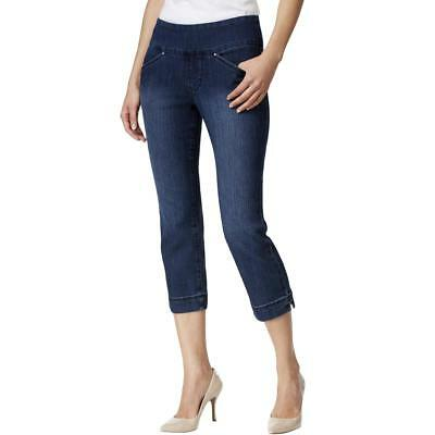 c15e3caf564 Jag Jeans Womens Skinny Fit Pull On Classic Rise Cropped Jeans BHFO 6013