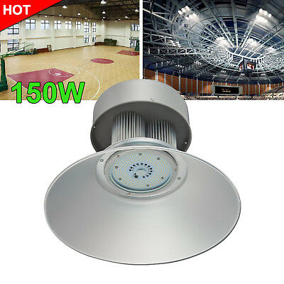 150W LED High Bay Light Cool White Warehouse Industrial Factory Gym Lamp AC110V