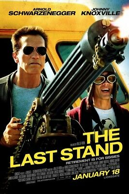 THE LAST STAND great original 27x40 D/S movie poster (s01)