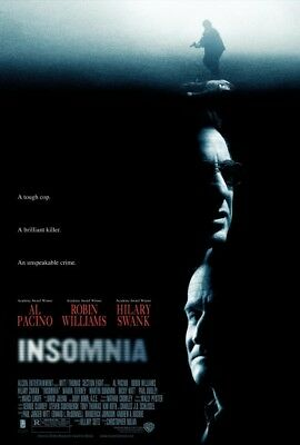 INSOMNIA great original 27x40 D/S movie poster (s12)