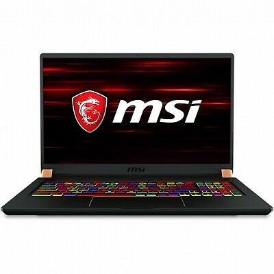 """MSI GS75 Stealth 8SF Gaming Laptop 17.3"""" i7 16G 512GB SSD RTX 2070 8GB Win10Home"""