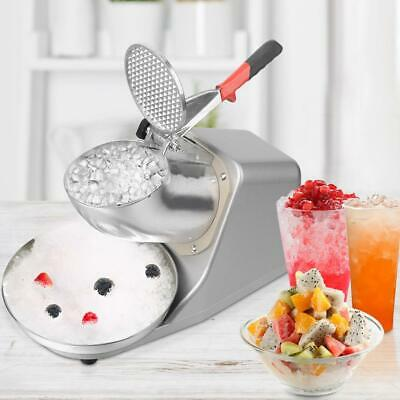 143lbs Ice Shaver Machine Snow Cone Maker Electric Crusher Shaving Summer Cool