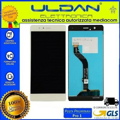 Lcd Display Huawei P9 Lite Vns-L31 L23 Touch Screen Schermo Monitor Bianco