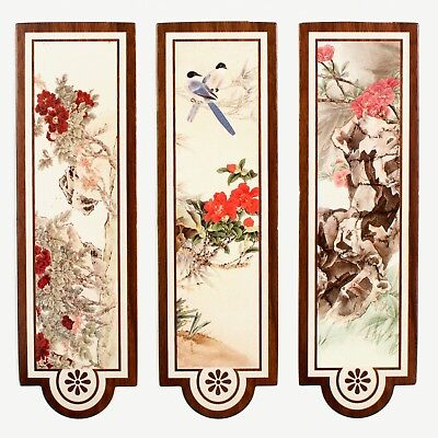 Set of 30 paper bookmarks of classic vintage style Chinese scenery #B0027