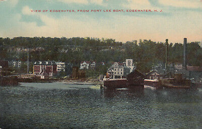 EDGEWATER , New Jersey , 1900-10s ; Waterfront