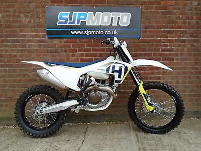 Husqvarna FX 450 2018 Only 1.2 Hours Use With V5 Road Reg NOW SOLD