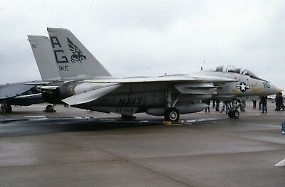 Original slide US Navy Grumman F-14  Tomcat of VF-143  sd146
