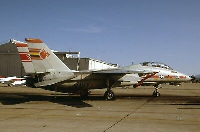 Original slide US Navy Grumman F-14A  Tomcat of VF-1  sd136
