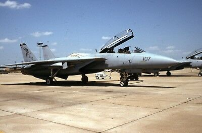 Original slide US Navy Grumman F-14 Tomcat of VF-101 sd81