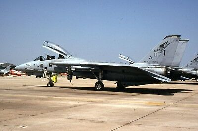 Original slide US Navy Grumman F-14A Tomcat of VF-101 sd83