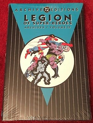 DC Comics Archives LEGION OF SUPER-HEROES Vol 13 HC New Sealed