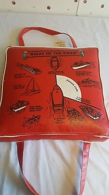 Vintage Sears And Roebuck Buoyant Boat Cushion