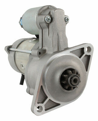New Starter for Kioti Tractors OSGR; 12-Volt; CW; 9-Tooth 1196451, E6850-63011