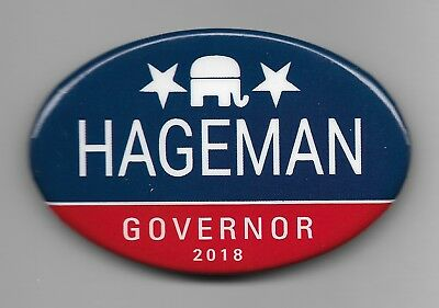 Official Button from Harriet Hageman Wyoming Governor 2018 Campaign
