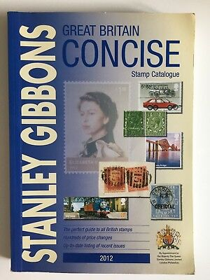 Gb 2012 Stanley Gibbons Concise Stamp Catalogue