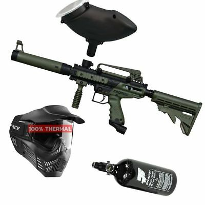 Paintball Set Tippmann Cronus Tactical oliv, inkl. VForce thermal + HP + Munbox