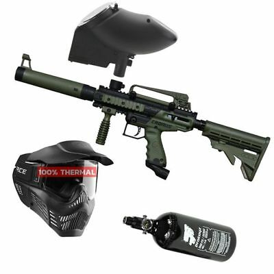 Paintball Set Tippmann Cronus Tactical oliv, inkl. VForce thermal + HP + JT Revo
