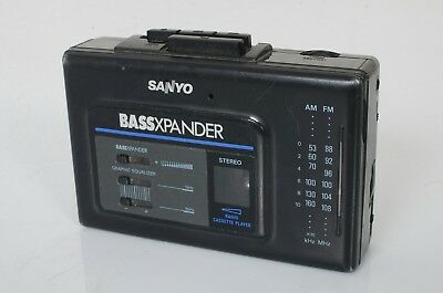 Sanyo MGR79  Stereo Radio Cassette Player BassXpander Tested Nice Shape