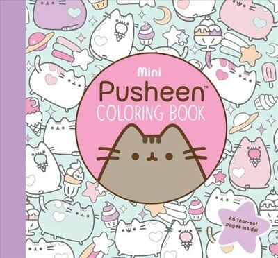 Mini Pusheen Coloring Book by Claire Belton (Paperback, 2017)