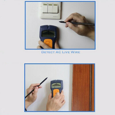 Stud Wood Wall Center Finder Scanner Metal AC Live Wire Rebar Detector