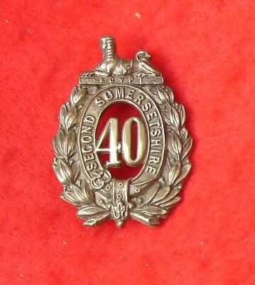 40th Second Somerset Regiment glengarry