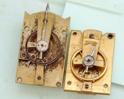 clockmaker 2  platform Escapement for french clock For parts Repair both repair