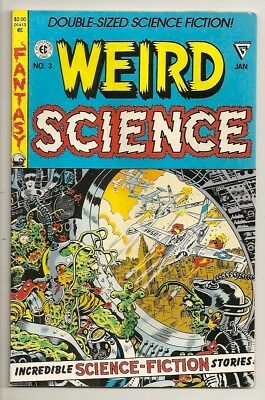 D638 Weird Science #3 Reprint Of EC WS 9 & WF 14  Golden Age Comic Book