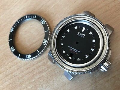 oris herren case stahl for parts or repair No Glas