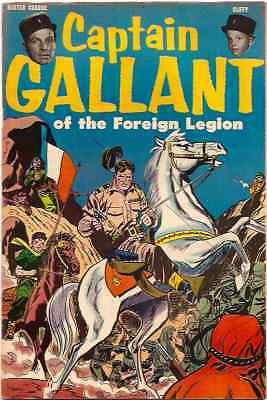C489 Capt. Gallant Buster Crabbe French Foreign Legion TV Golden Age Comic Book