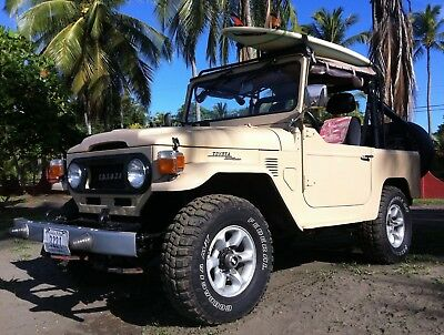 1973 Toyota Land Cruiser Soft Top FJ 40 Land Cruiser