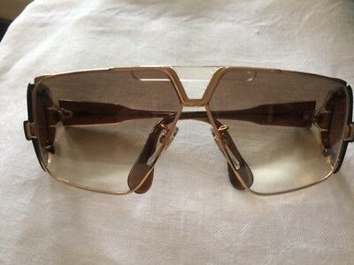 Men S Original Vintage Cazal 951 97 Gold Frame Sunglasses And Case