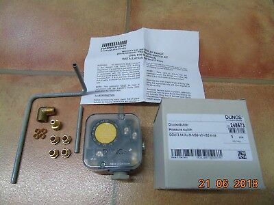 Hamworthy 563605204 (Dungs), differential pressure switch. Wessex HE 200