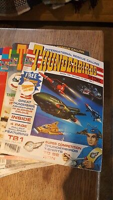 thunderbirds magazines comics memorabilia  Gerry Anderson 1991-3 plus free gifts