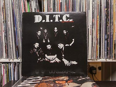 "D.I.T.C Diggin' In The Crates - Thick / Time to get this Money, 12"" Vinyl, 1999"