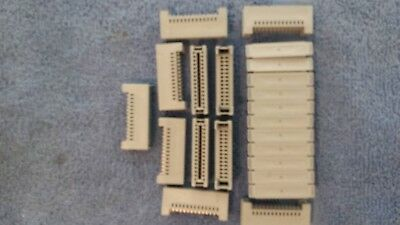 3M 3462-0001 Connector Card Edge Recp. 26, 2.54mm  Lot of 11 pcs.