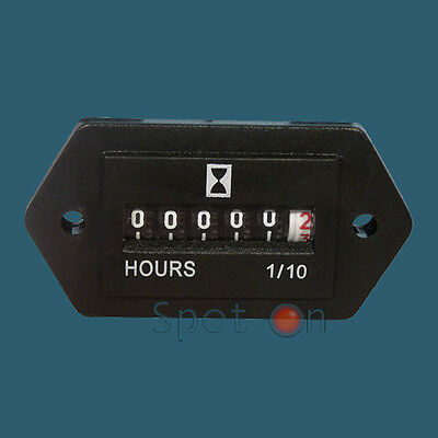 Hour Meter- Generator or any 120 Volts AC 60 hz