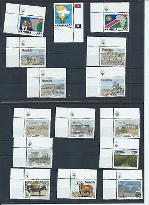 Namibia stamps.1990 MNH Complete (B771)