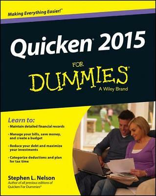 Quicken 2015 for Dummies by Stephen L. Nelson (author)