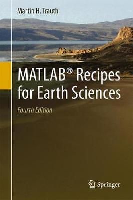 MATLAB Recipes for Earth Sciences by Martin H. Trauth (author)