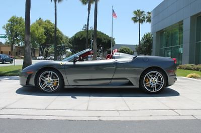 430 Spider Convertible 2D Grigio Silverstone (grey) Ferrari F430 with 14,962 Miles available now!