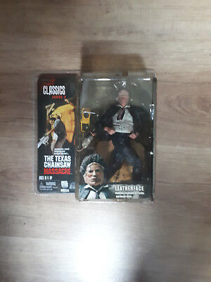 Neca Cult Classics (wie McFarlane) Leatherface, Action Figur, OVP!
