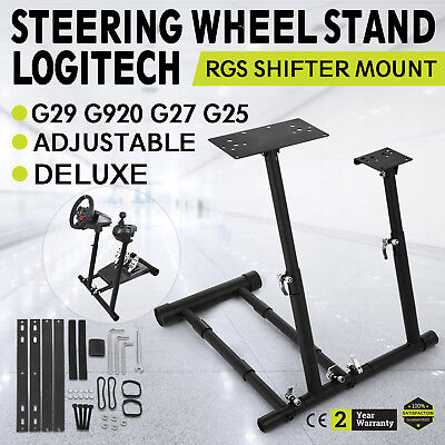 Racing Simulator Steering Wheel Stand for T300RS 458 T80 G27 G29 PS4 G920