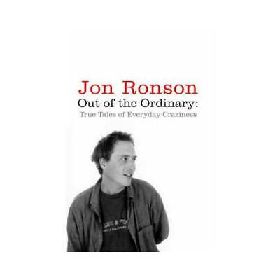Out of the Ordinary by Jon Ronson (author)