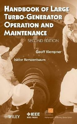 Handbook of Large Turbo-Generator Operation and Maintenance by Geoff Klempner...